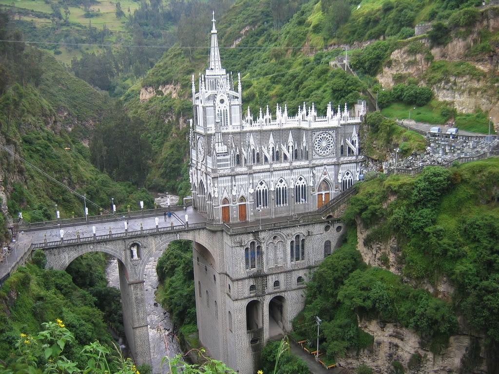 Las Lajas Sanctuary An Amazing Sight Unusual Places