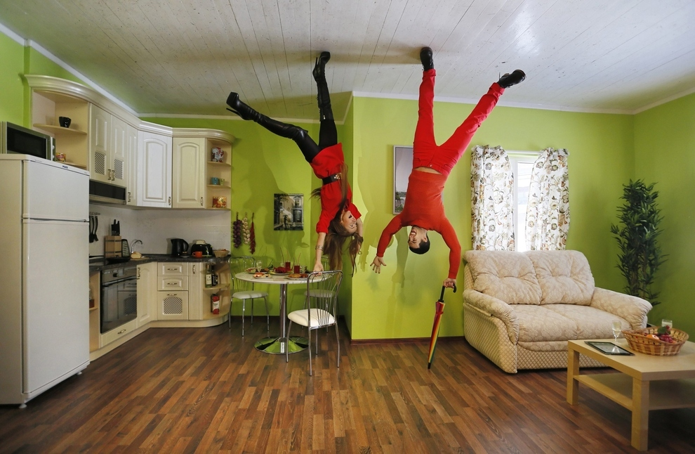 Upside Down House In Poland upside down house  moscow's new tourist  attraction | unusual places