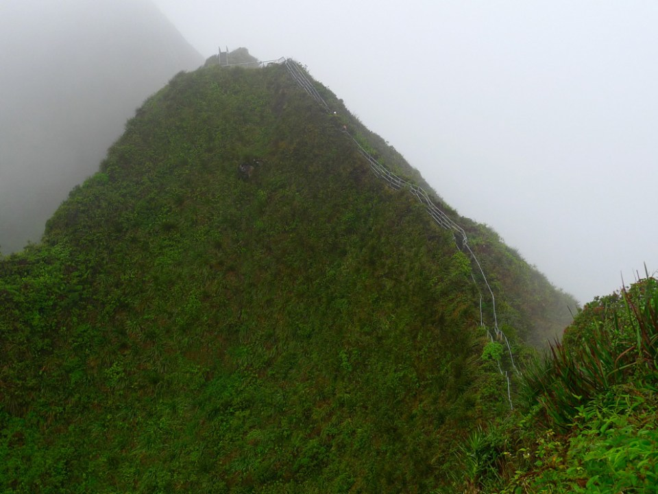 Here's another section of the stairs. Image credit: unrealhawaii.com