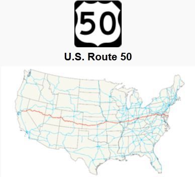 U S  Route 50 - America's Loneliest Road - Unusual Places
