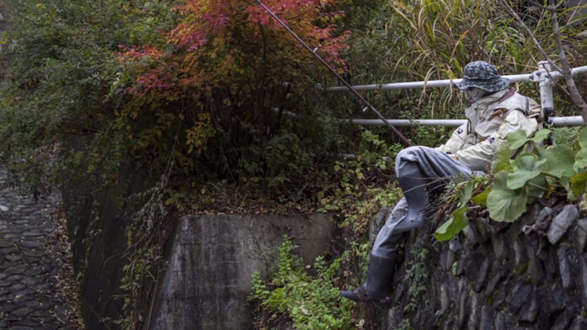 Nagoro - A Creepy Japanese Village Where Dolls Replace The