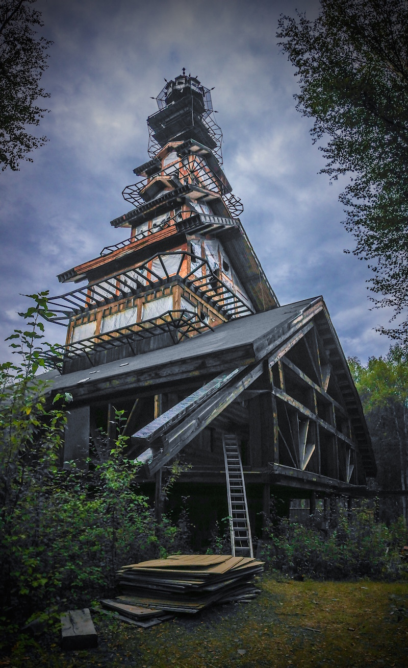 whimsical dr seuss house in alaska unusual places. Black Bedroom Furniture Sets. Home Design Ideas