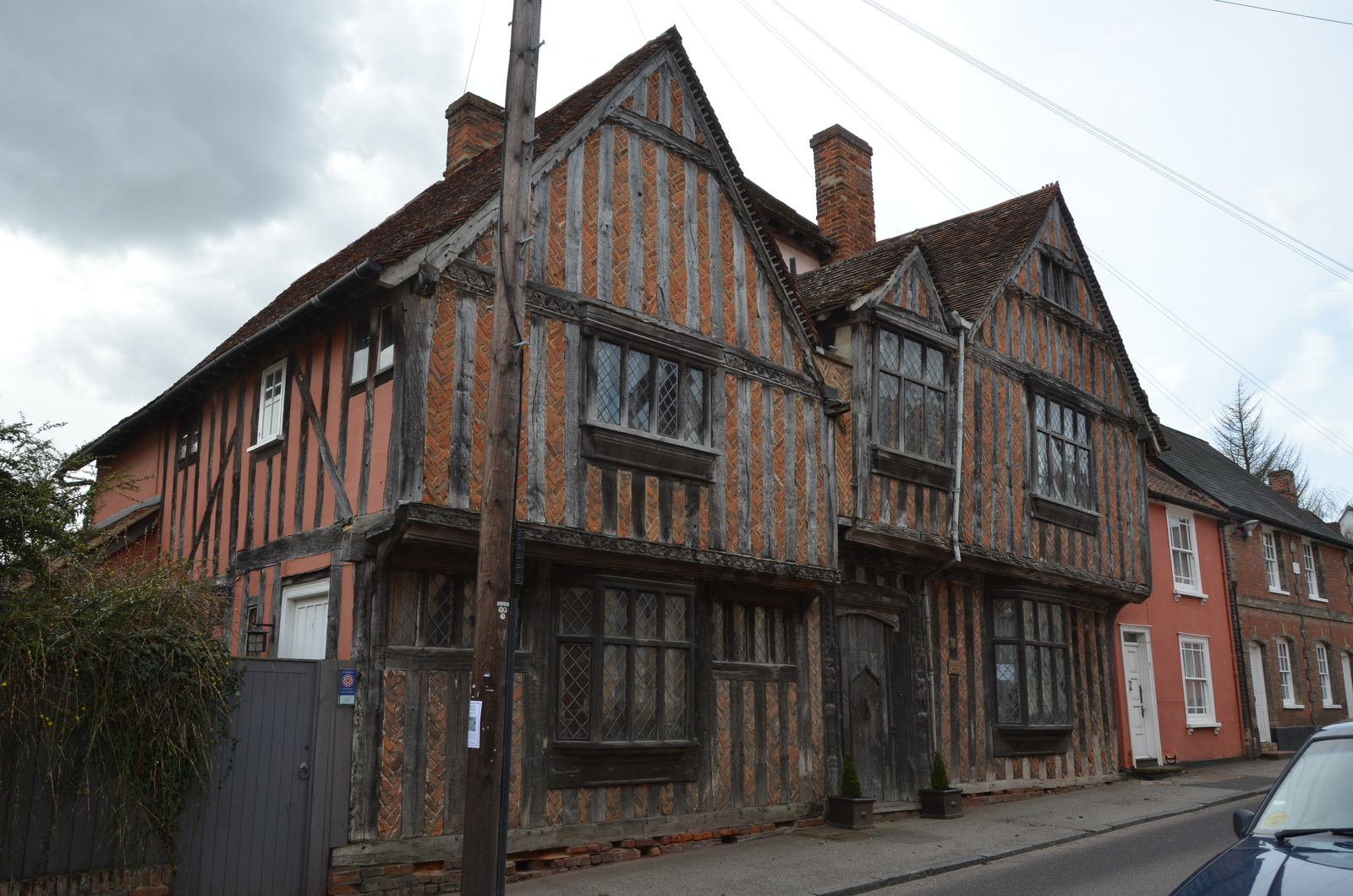 Lavenham Crooked Houses Unusual Places