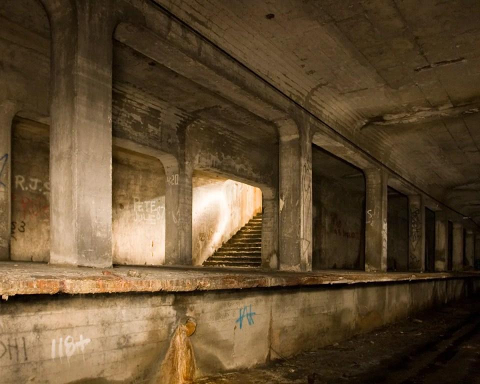 Closed off stairwell Photo by Zachery Fein zfein.com