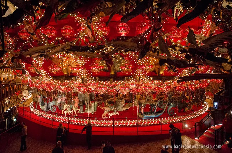 "House on the Rock Carousel is claimed to be ""the world's largest indoor carousel"". Photo by Michael Martens"
