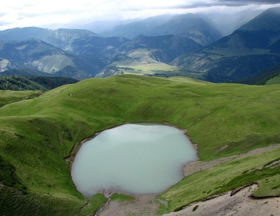 Omalo from Oreti lake. Photo by Ilona Margalitadze