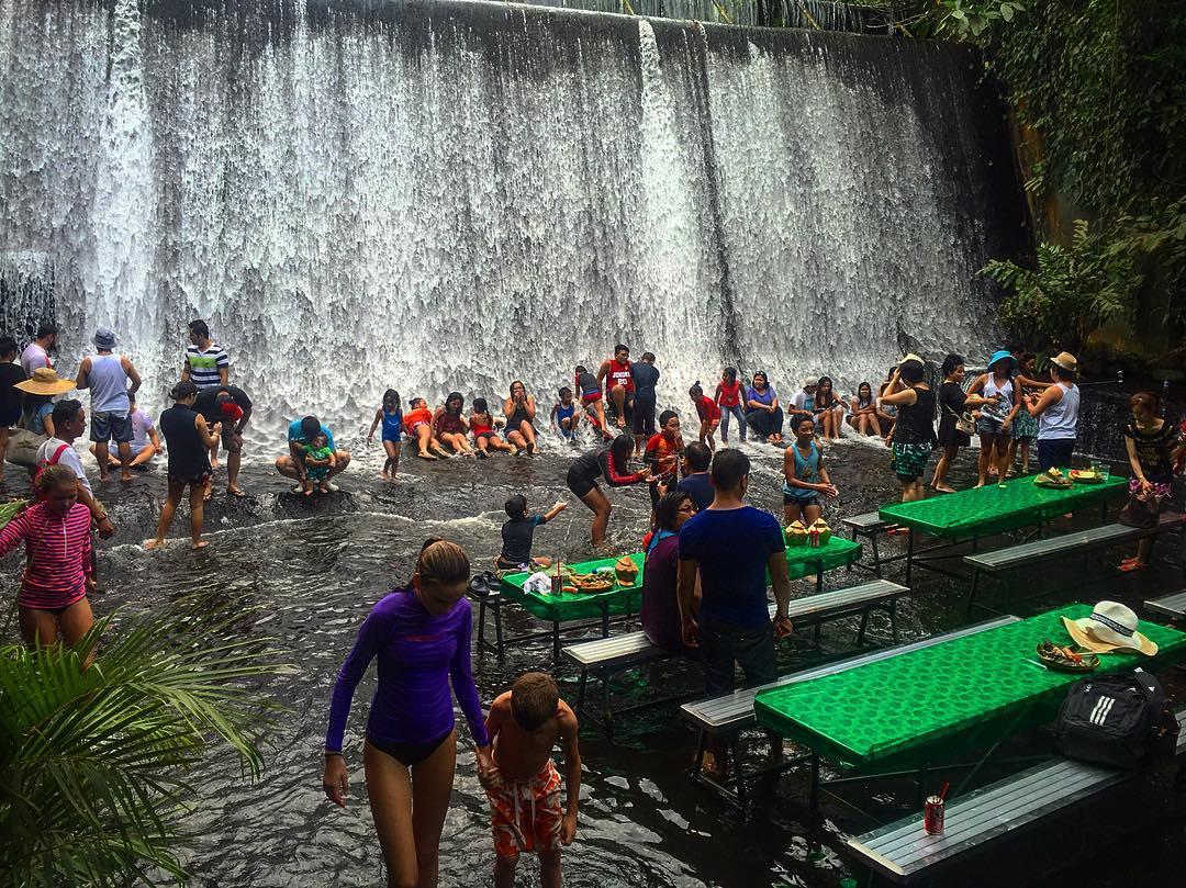 Labassin Waterfall Restaurant Menu