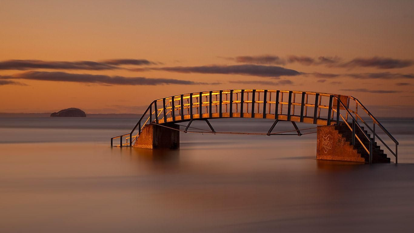 The Bridge to Nowhere Belhaven Bridge   Unusual Places