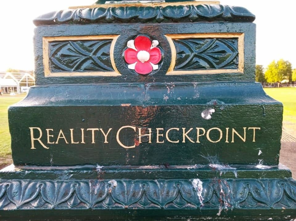 Reality Checkpoint inscription
