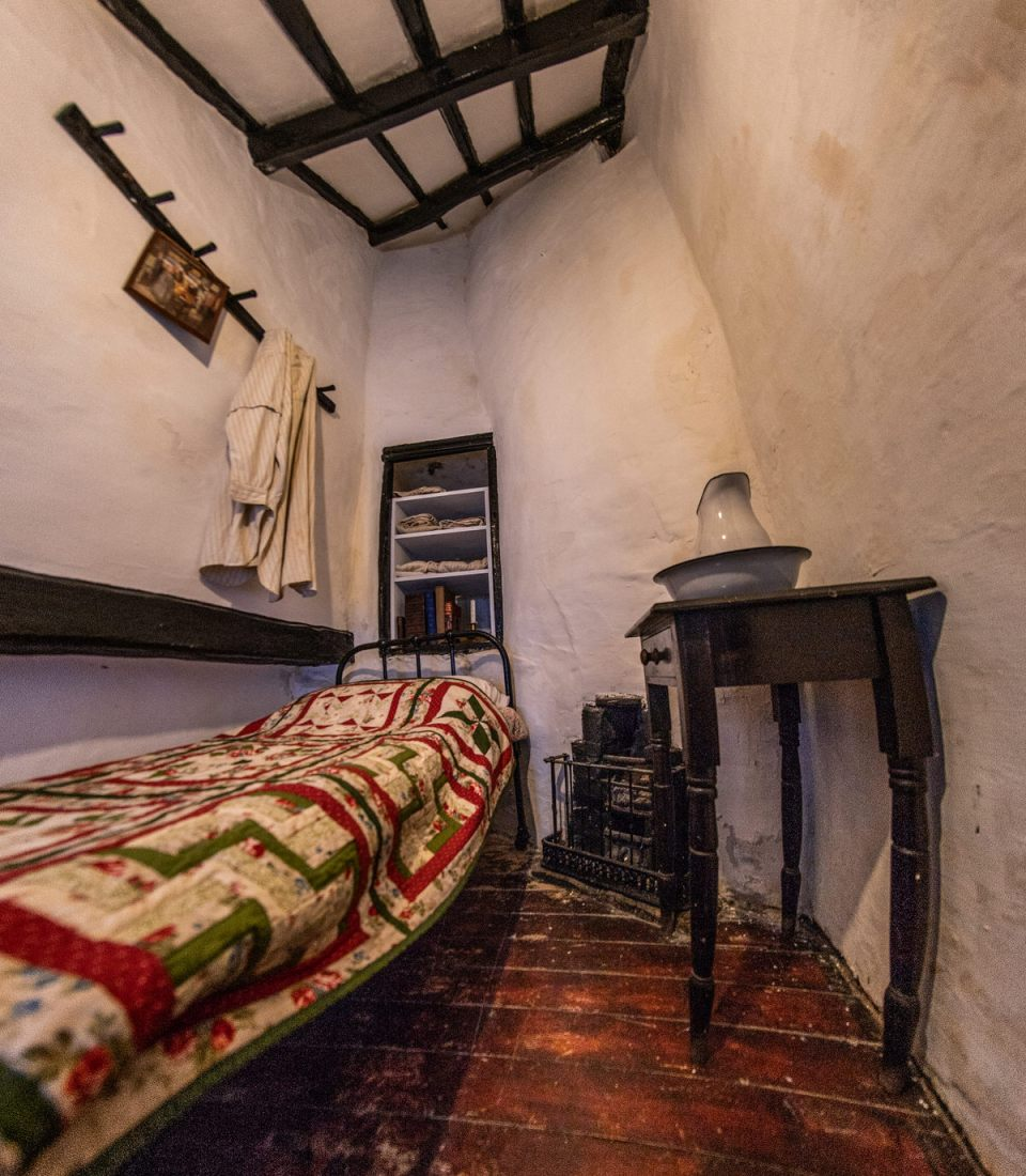 Upstairs bedroom, Quay House of Conwy