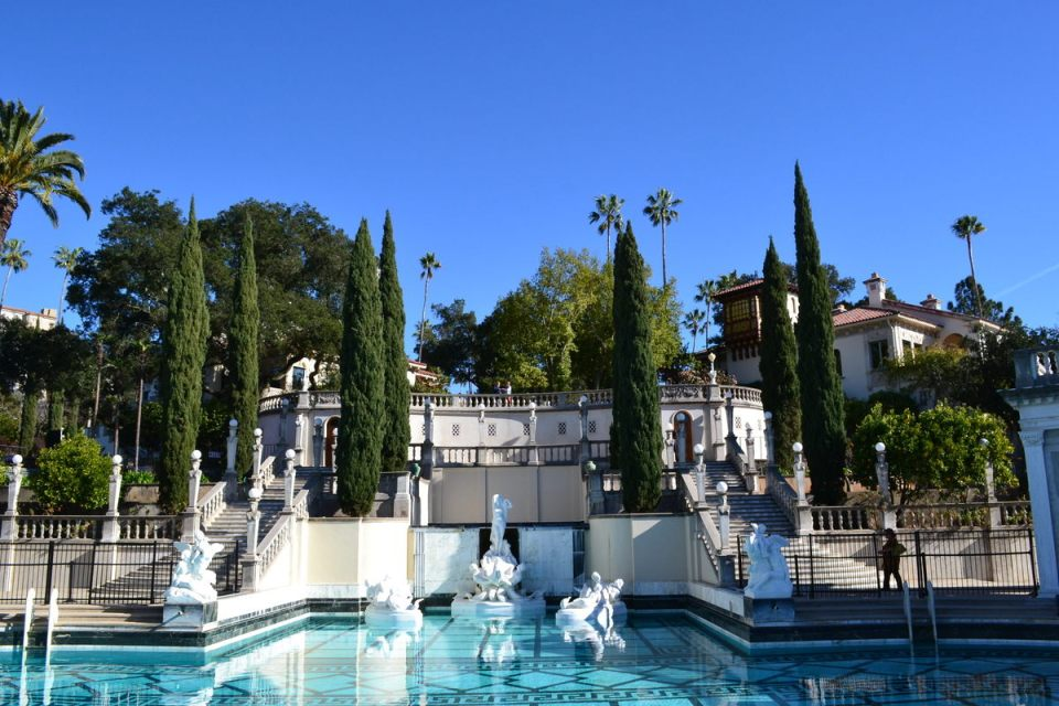 Hearst castle front view