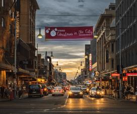 Rundle Mall, Adelaide, Australia