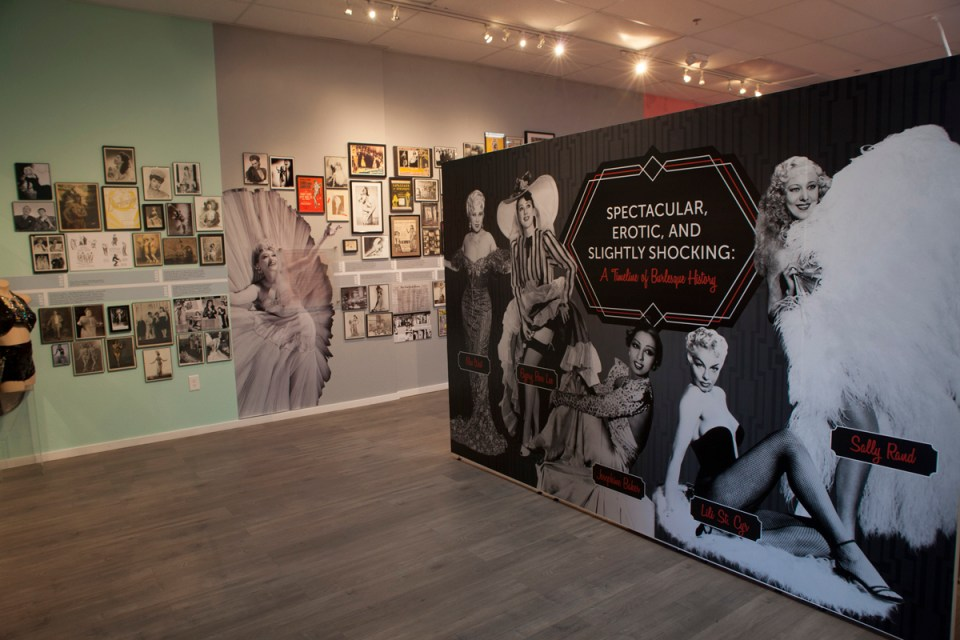 The Burlesque Hall of Fame and the Erotic Heritage Museum