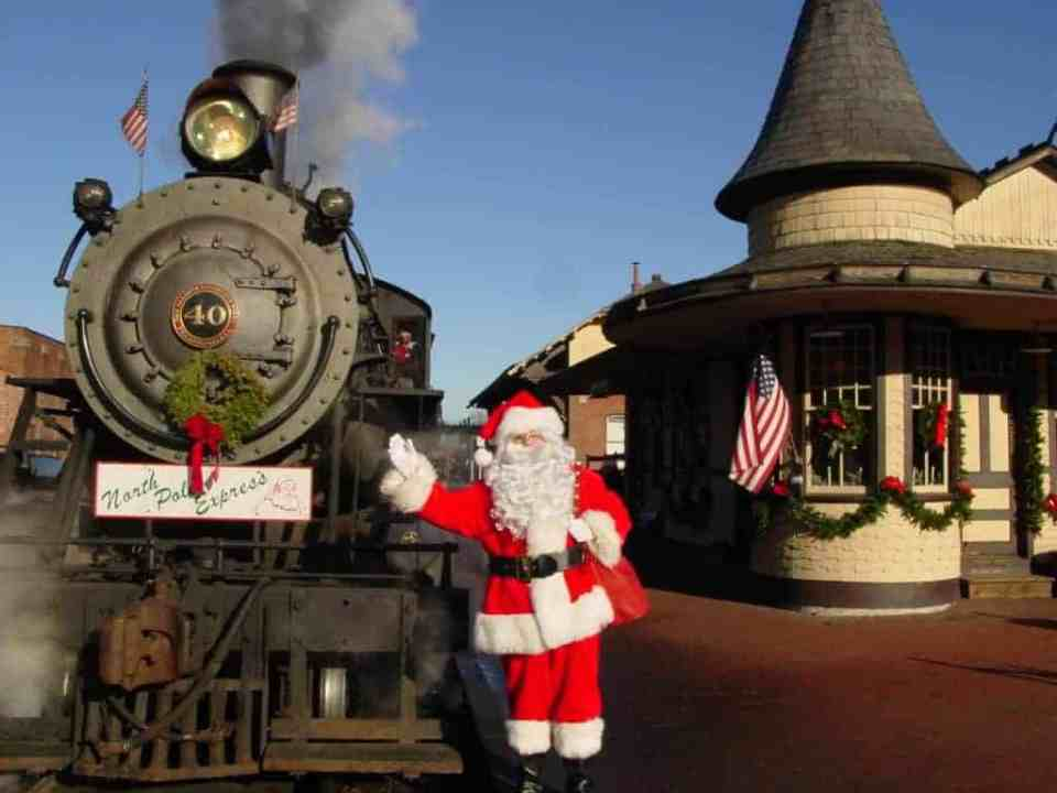 Santa's Steam Train Ride new hope