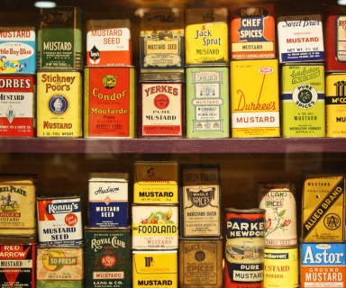 National Mustard Museum jars