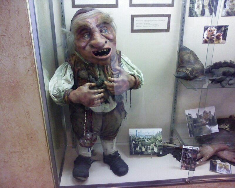 Hoggle puppet