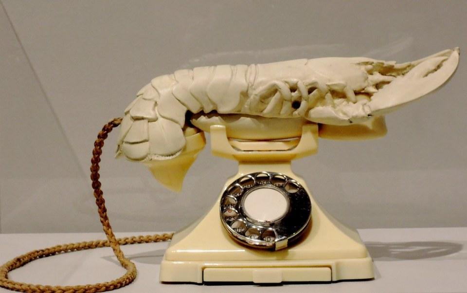 Salvador Dali-Aphrodisiac Telephone (Lobster Telephone)