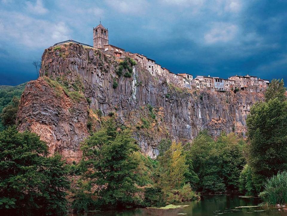 Castellfollit de la Roca in Spain