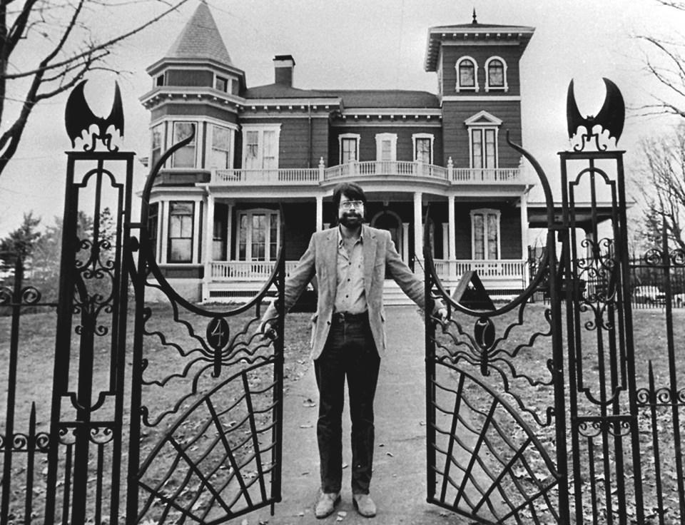 Stephen King's house, 1982