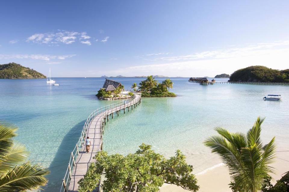 Likuliku Lagoon Resort In Fiji