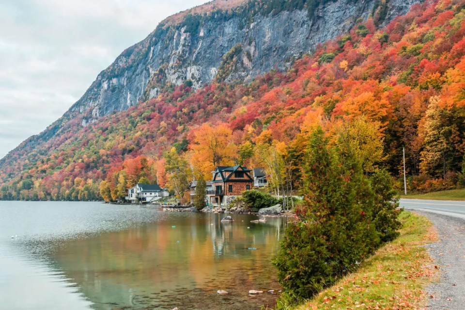 The Northeast Kingdom is the ultimate New England escape. THOMAS H. MITCHELL/GETTY IMAGES