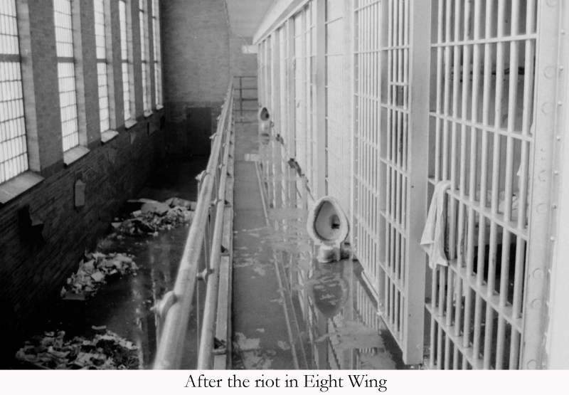 After the riot in 8 wing (1)