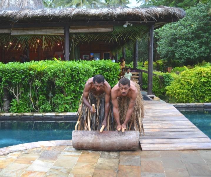 Fiji wedding warriors