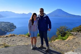 Nuestro primer contacto con el Lago Atitlán