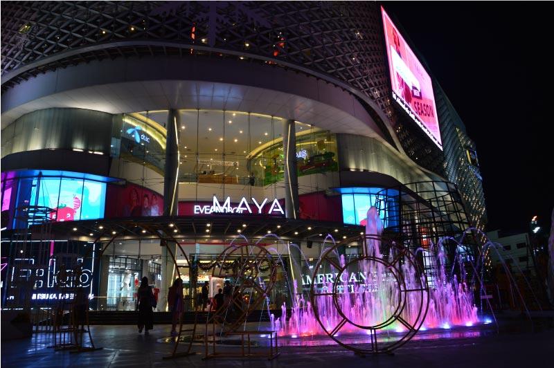 Centro comercial Maya, Chiang Mai, Tailandia.