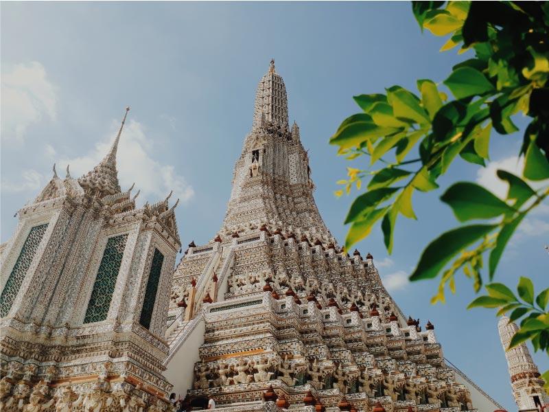 Templo Wat Arun, Bangkok, Tailandia.