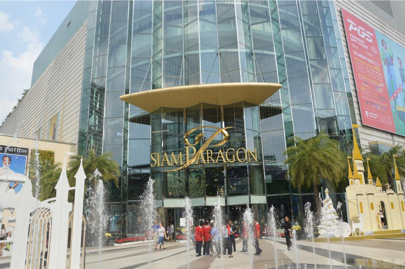 Siam Paragon, centro comercial de Bangkok.