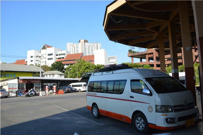 Terminal 2 de autobuses, Chiang Mai.