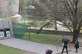 Activité de tirs à l'arc, Tallinn
