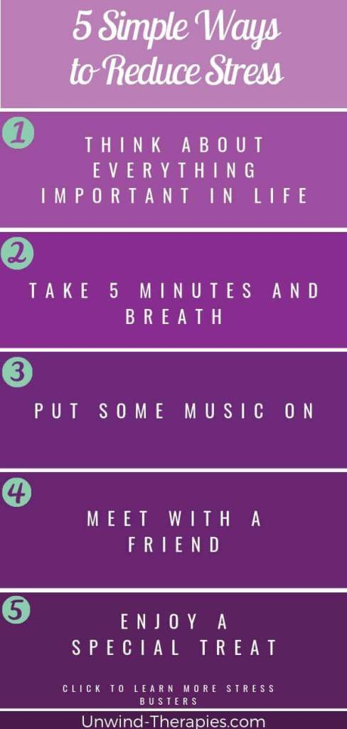 Stress management activities