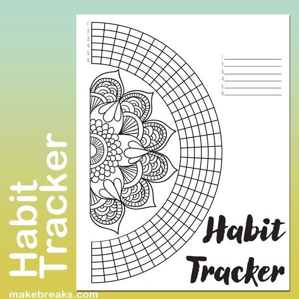 best habit tracker printable