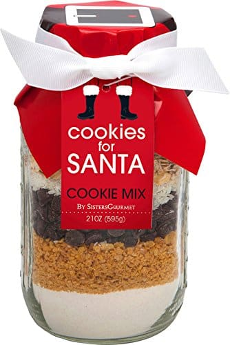 Holiday Jar of Cookies