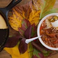 Welcome to Fall: Moose Chili & Cornbread