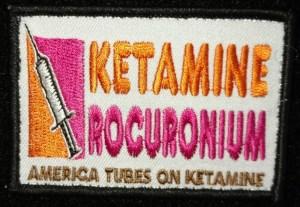 Ketamine Rocuronium Patch - America Tubes On Ketamine