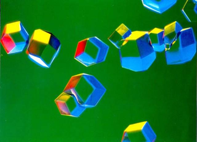 Кристаллы Нейраминидазы вируса гриппа, выделенные из Крачковых птиц.