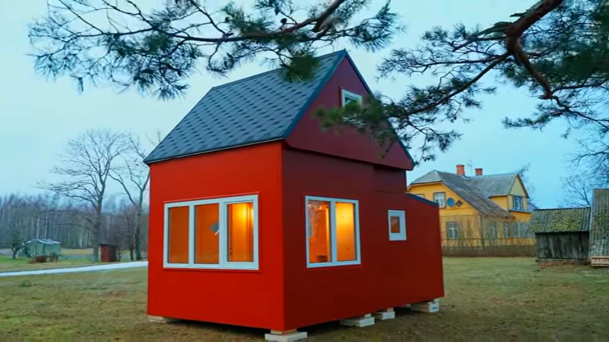 Складной дом для дачи
