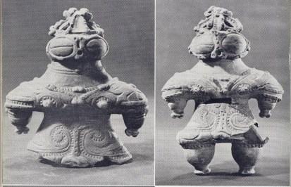 Clay Figurines from the Jomon Period (Dogus)