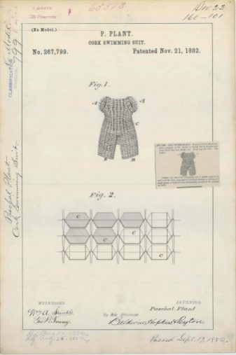 P. Plant's Cork Swimming Suit https://catalog.archives.gov/id/6277687