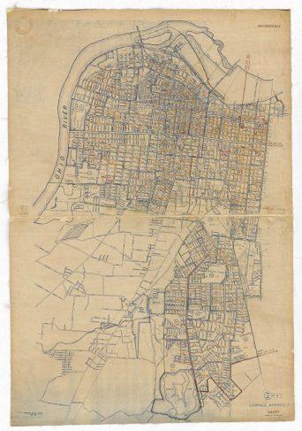 1950 Census E.D. Map Louisville, page 2