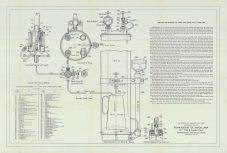 RG26, Lamps & Lanterns (optics), Folder 1. Directions for operating 35mm single tank system, Type B, Vapor Lamp, 1912.