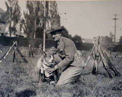 "165-WW-472A-048 - ""Spike"" of the First Regiment, Cavalry, N.Y.N.G."