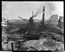 Norfolk Naval Shipyard, Dry Dock No. 3, September 13, 1904. Local Identifier: 181-V-374