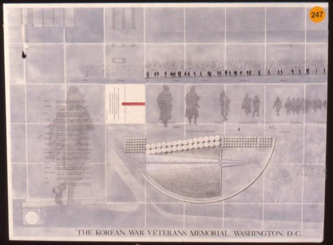 Slide 1 of the winning memorial deisgn