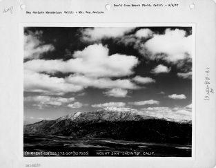 """Local ID: 18-AA-21-061 """"Mt. San Jacinto"""""""