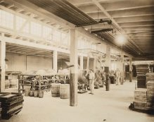 Making chewing gum and chocolate for soldiers. general view of pan room of Frank H. Fleer Co., Philadelphia, Pennsylvania. Local Identifier: 165-WW-192D-20.