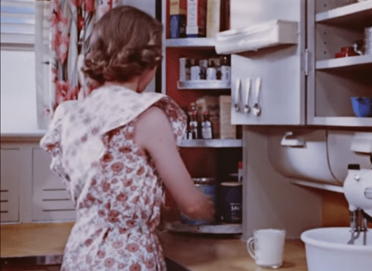 Corner Cabinet Step Saving Kitchen